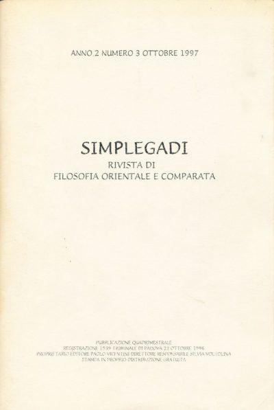 Simplegadi - Rivista di filosofia orientale e comparata