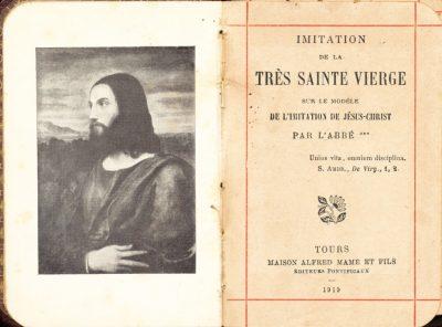 Alexandre-Joseph de Rouville. Imitation de la Très Sainte Vierge