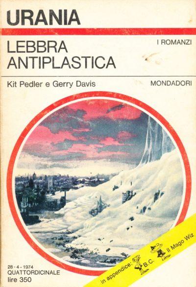 Kit Pedler - Gerry Davis. Lebbra antiplastica