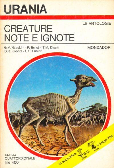 Creature note e ignote