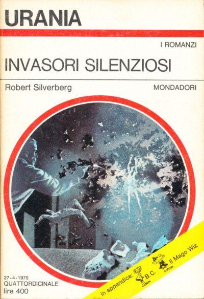 Robert Silverberg. Invasori silenziosi