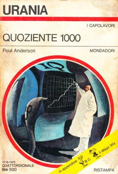 Poul Anderson. Quoziente 1000
