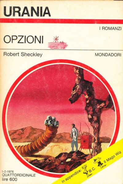 Robert Sheckley. Opzioni
