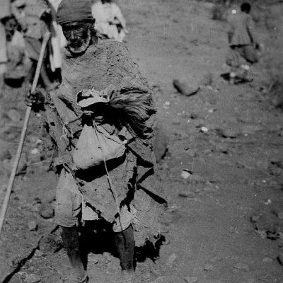 Africa Orientale Italiana - Arzillo vecchietto indigeno