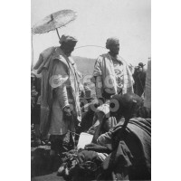 Africa Orientale Italiana - Al mercato di Abbi Addi