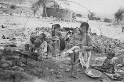 Africa Orientale Italiana - Filatrici di cotone