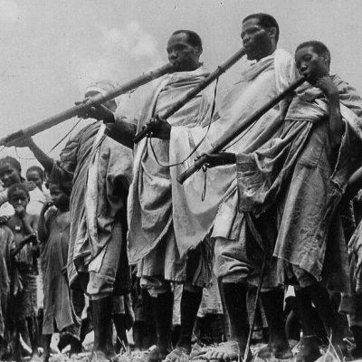 Africa Orientale Italiana - Suonatori