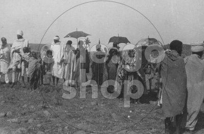 Africa Orientale Italiana - Processione copta