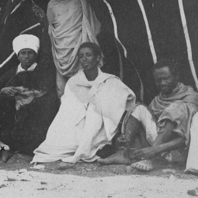 Africa Orientale Italiana - Tenda di un sottomesso