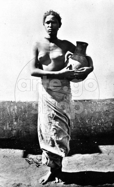 Africa Orientale Italiana - Ragazza abissina