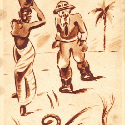 Africa Orientale Italiana - Un bel passo molleggiante...