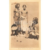 Africa Orientale Italiana - Donne Cumana con poppante