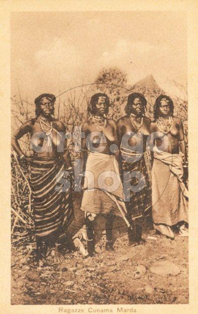 Africa Orientale Italiana - Ragazze Cumana Marda
