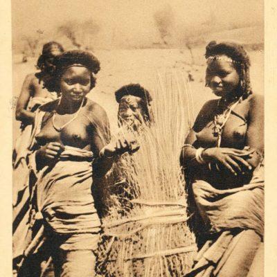 Africa Orientale Italiana - Ragazze Beni-Amer