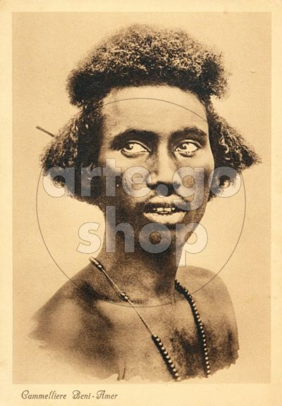 Africa Orientale Italiana - Cammelliere Beni-Amer