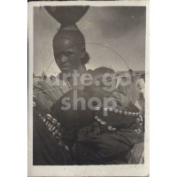 Africa Orientale Italiana - Una mamma tigrina