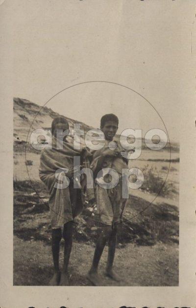 Africa Orientale Italiana - Giovani tigrini