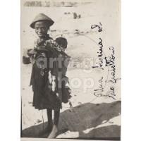 Africa Orientale Italiana - La piccola Tigrina col fratellino