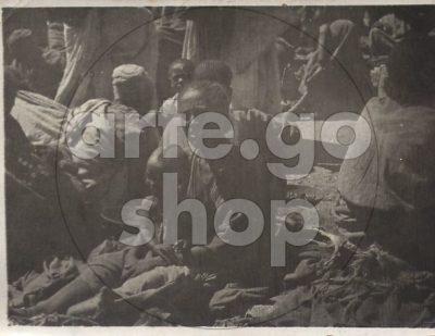 Africa Orientale Italiana - Venditore del mercato di Edagò Hamos