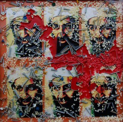 Antonio Alfò. Bin Laden e i chiodi (Opera)