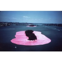 Christo & Jeanne-Claude. Surrounded Islands, Biscayne Bay, Greater Miami, Florida, 1980-83 (Opera)