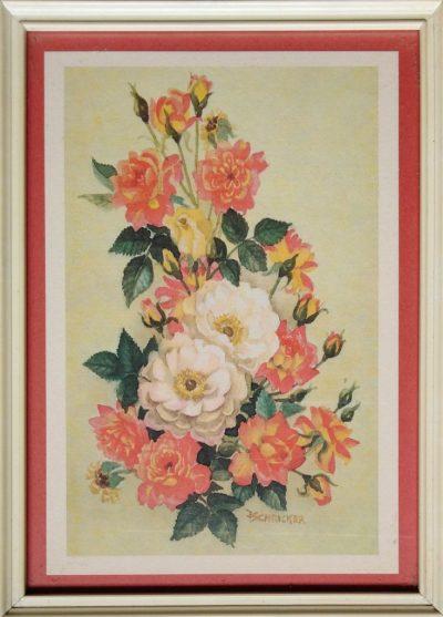 J. Schrecker. Garden roses (Opera)