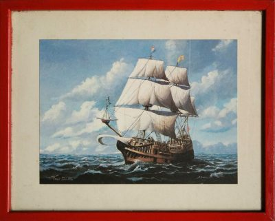 Paul Driver. Galleon (Opera)
