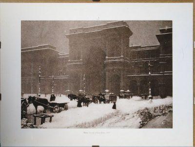 Milano. Nevicata in Piazza Duomo - 1929 (Opera)