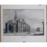 Milano. Veduta del Duomo dalla parte de gradini (Opera)