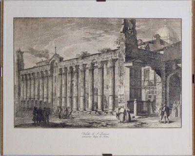 Veduta di S. Lorenzo anticamente bagni di Nerone (Opera)
