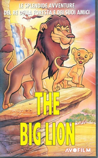 The Big Lion (VHS)