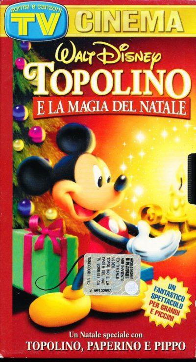 Topolino e la Magia del Natale (VHS)
