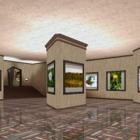 Expo 3d - Ambiente Lopsided Room: 48 Opere