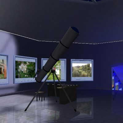 Expo 3d - Ambiente Moon Observatory: 61 Opere