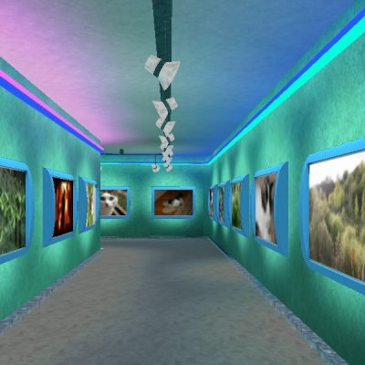 Expo 3d - Ambiente Neon Maze: 70 Opere