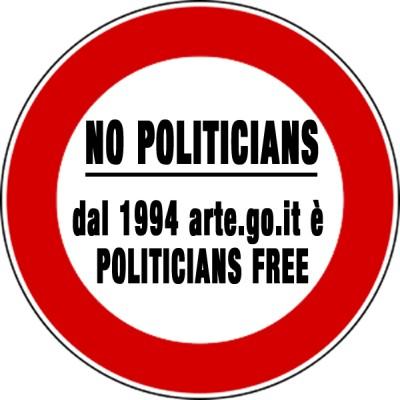 No politicians