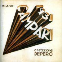 Fortunato Depero - Studio per Numero Uno Futurista Campari