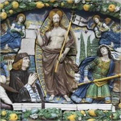 Giovanni della Robbia, la lunetta Antinori e Stefano Arienti