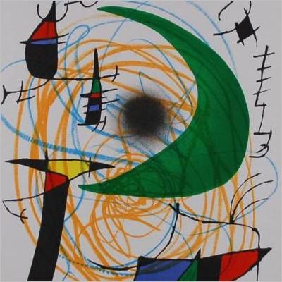 Istinto e poesia - Mostra di opere grafiche di Joan Mirò