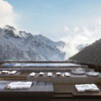 Acqua, luce, benessere. Un'architettura alpina contemporanea