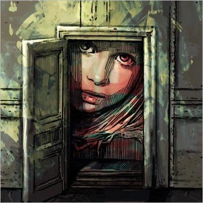 Alice Pasquini. The unchanging world