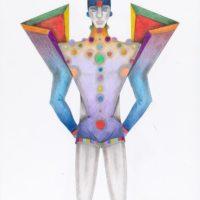 Capucci dionisiaco - Disegni per il teatro