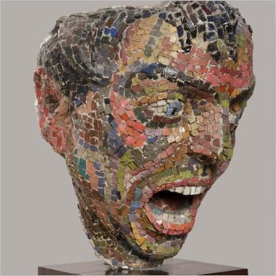 Montezuma, Fontana, Mirko - La scultura in mosaico dalle origini a oggi