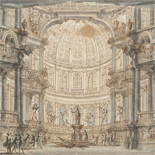 I disegni di scenografia della Collezione Lampugnani