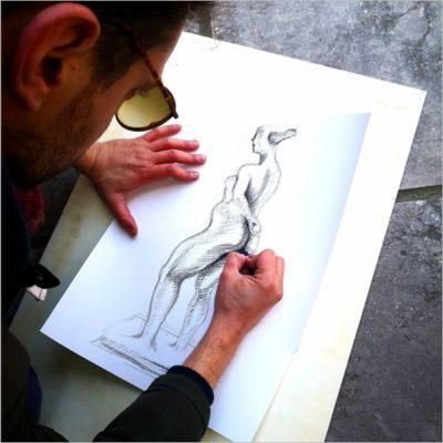 Drawing Marino: a scuola di disegno da Peggy Guggenheim