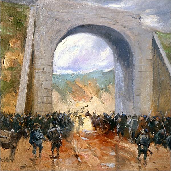 La Grande Guerra - I racconti pittorici di Italico Brass
