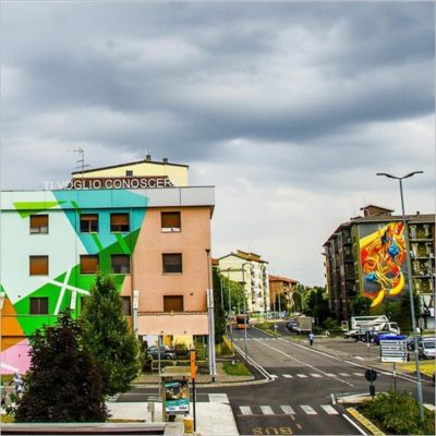 Without frontiers - Lunetta a colori