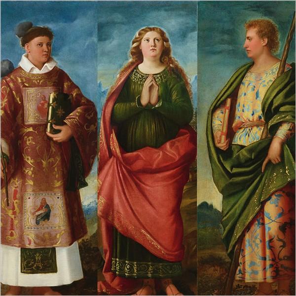 Cariani. Il trittico di Locatello