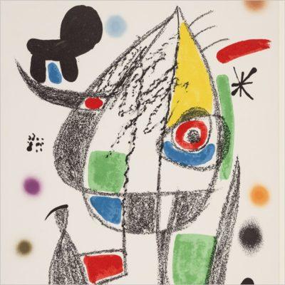 Joan Miró. Meraviglie grafiche 1966-1976