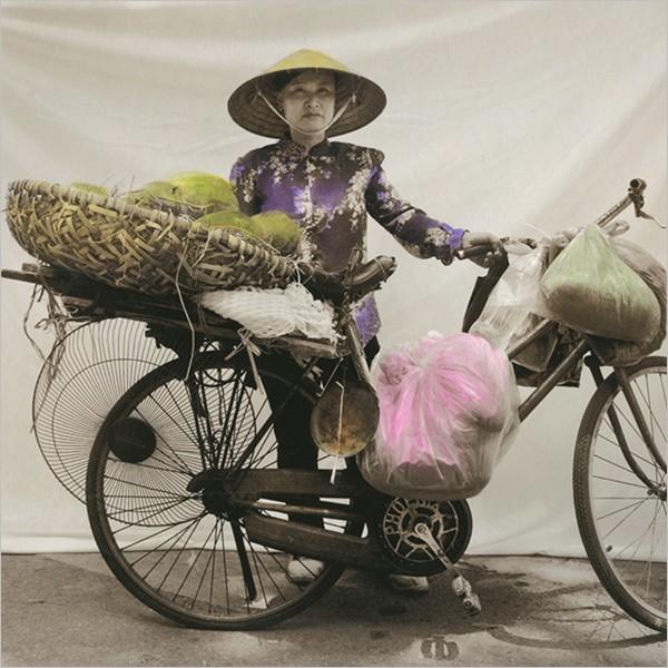 Màn - Viet Nam street heroines. Fotografie di Ottavia Castellina